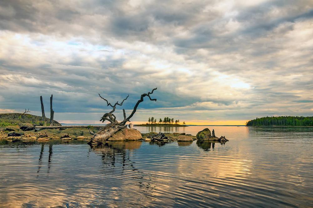 Отдых на озере Сегозеро - Карелия